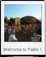 Welcome to Paléo !